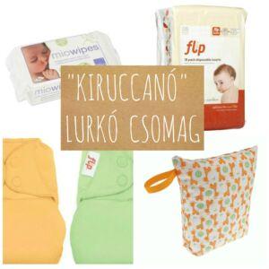 """Kiruccanó"" lurkó csomag"